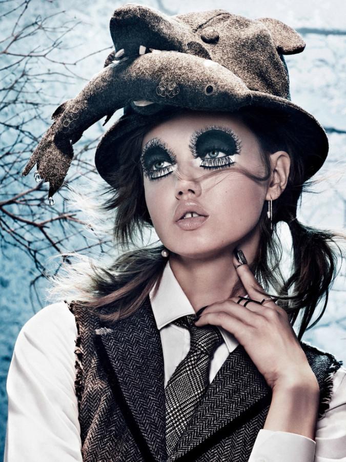 Vogue Japan September 2014 Lindsey Wixson Giampaolo Sgura