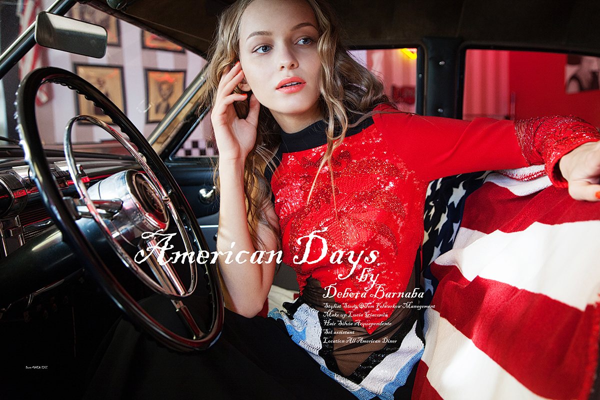 American Days for Basic magazine may 2017 / фото Debora Barnaba