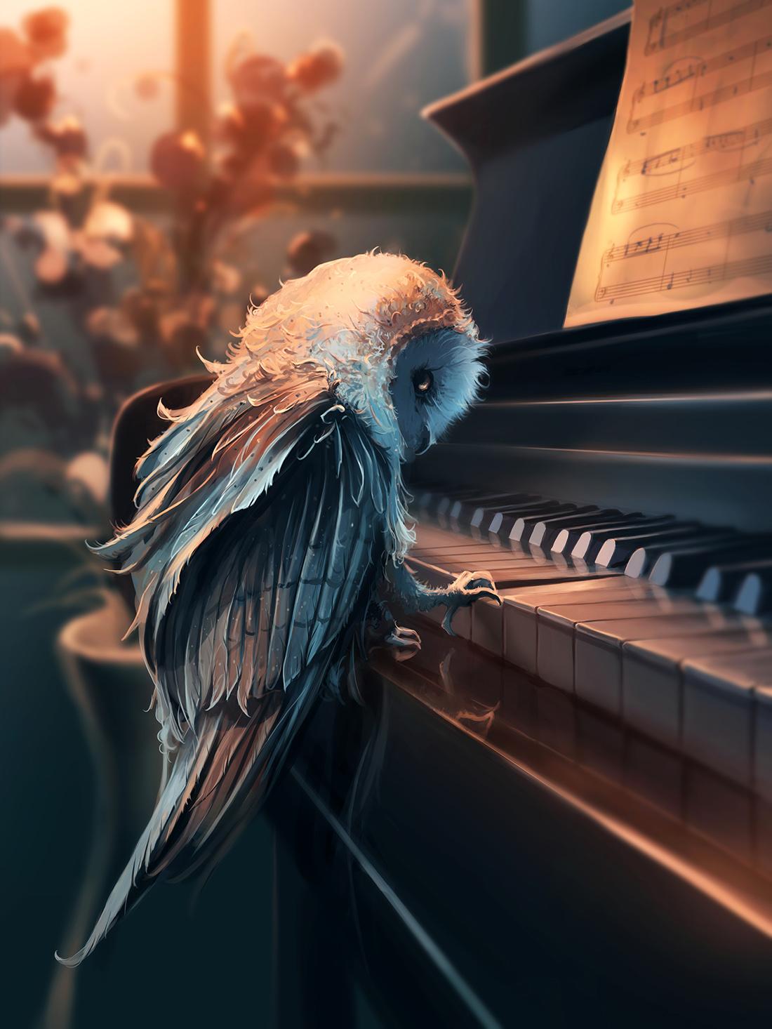 сова_пианино