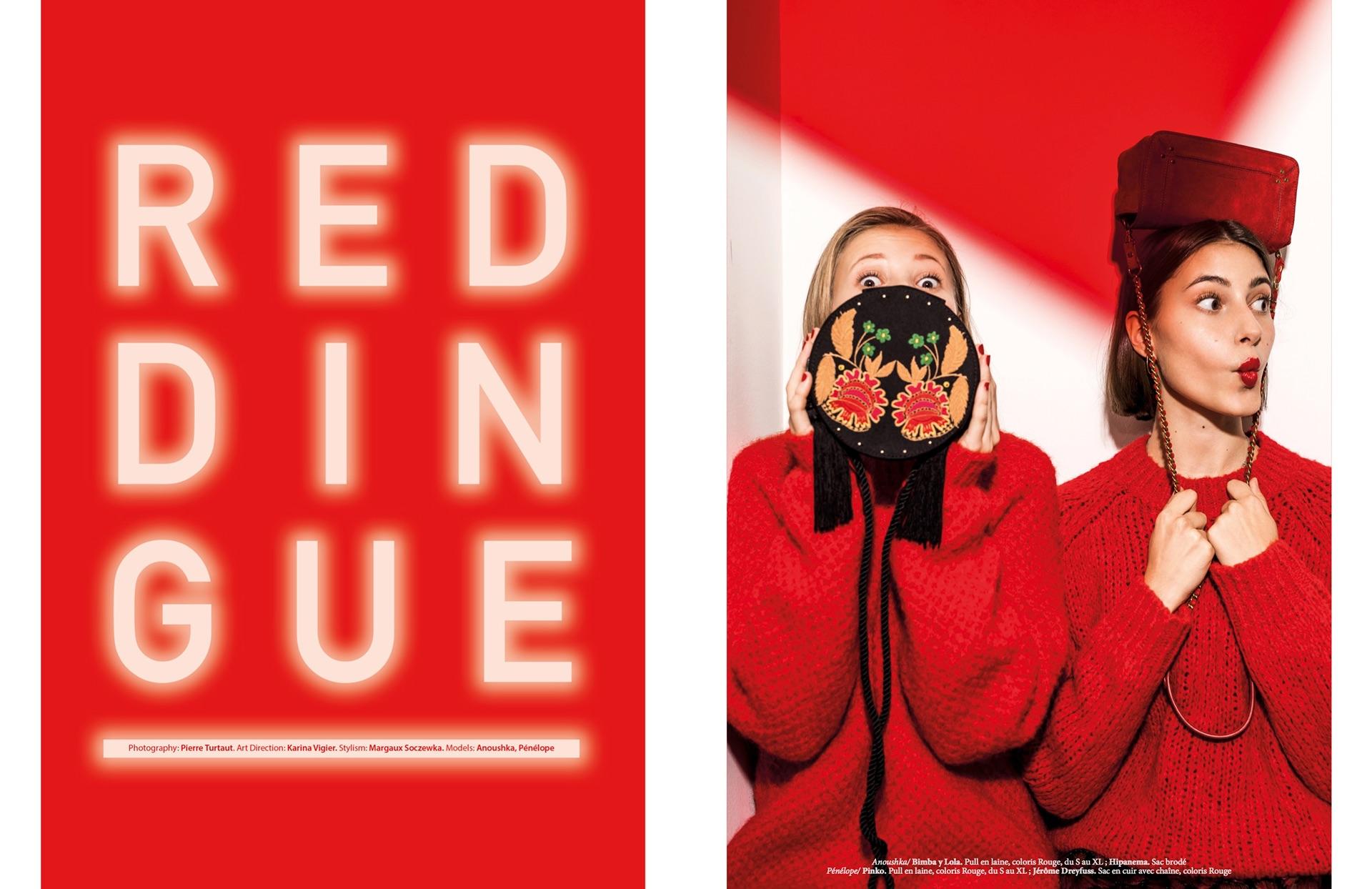 RED DINGUE для KIDS Magazine | фото Pierre Turtaut