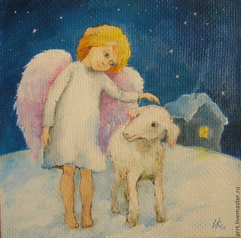 Милые ангелы Ирины Капустиной