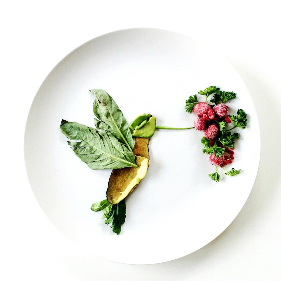 Картины из еды / фотограф Lauren Purnell