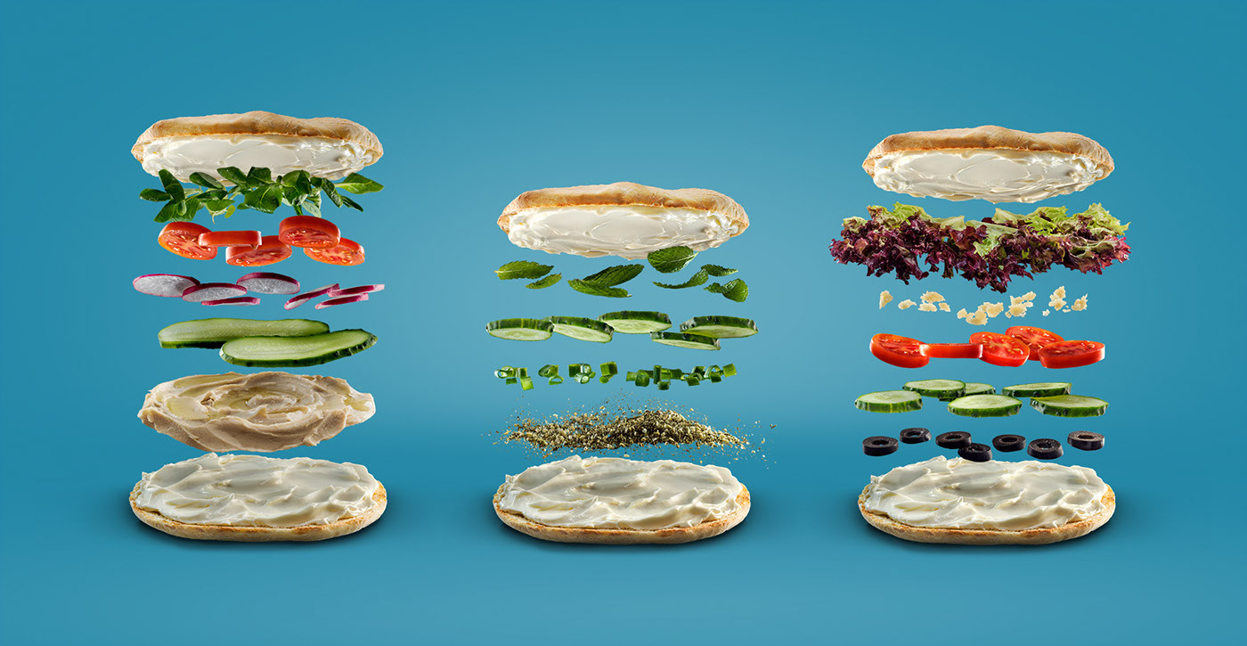 Sandwiches deconstructed / фото Sigitas Kondratas