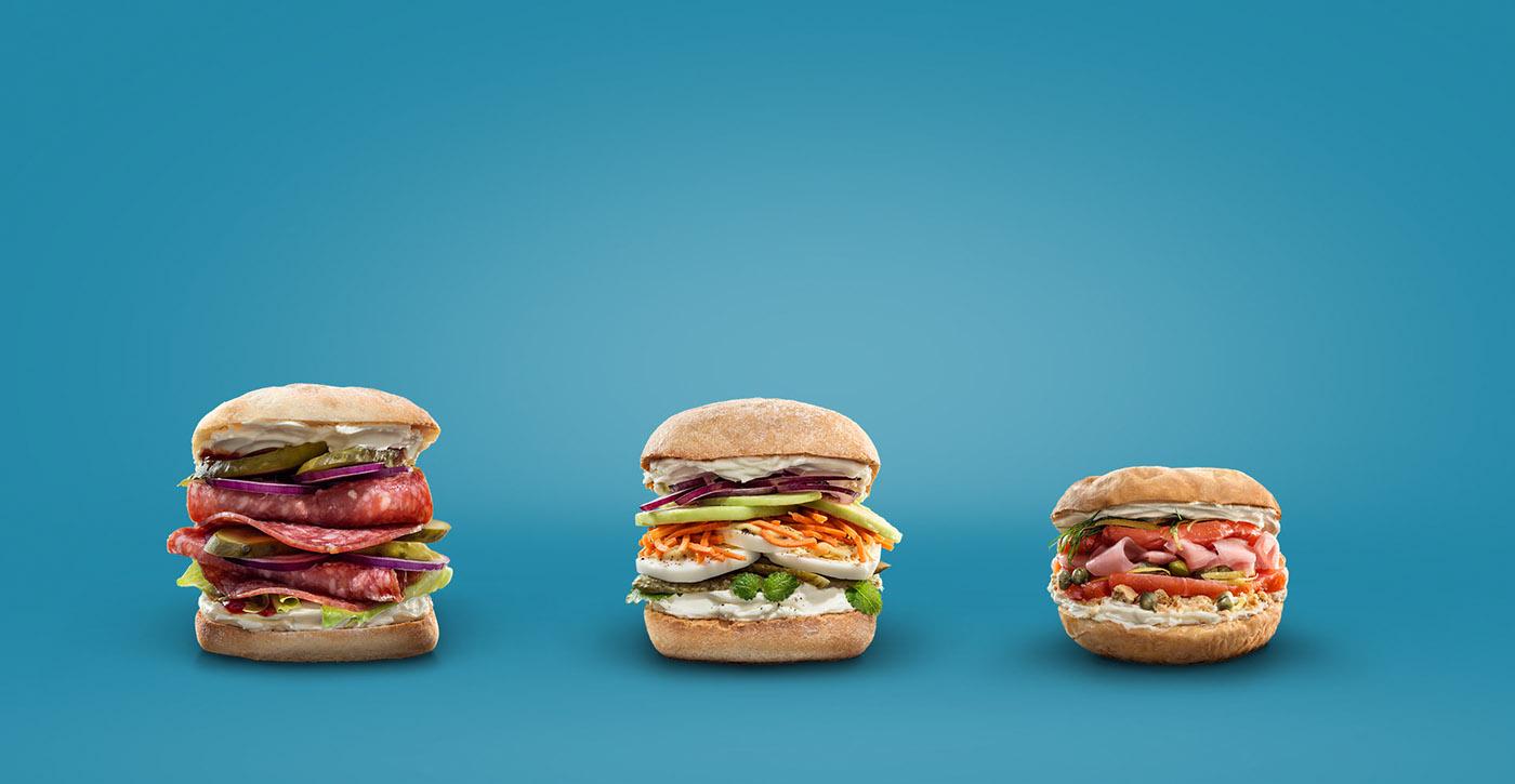 Sandwiches deconstructed / фото Sigitas Kondratas