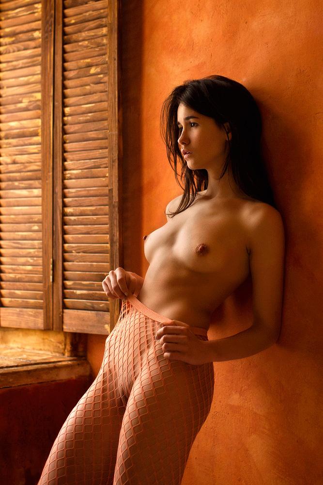 Колготки в сеточку / фото Oxana
