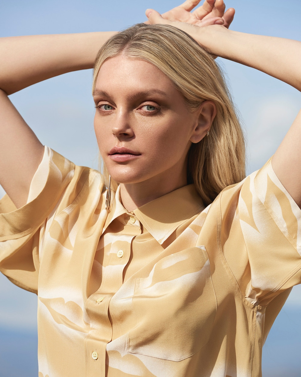 Jessica Stam by Andreas Ortner for Harper's Bazaar Czech May 2018