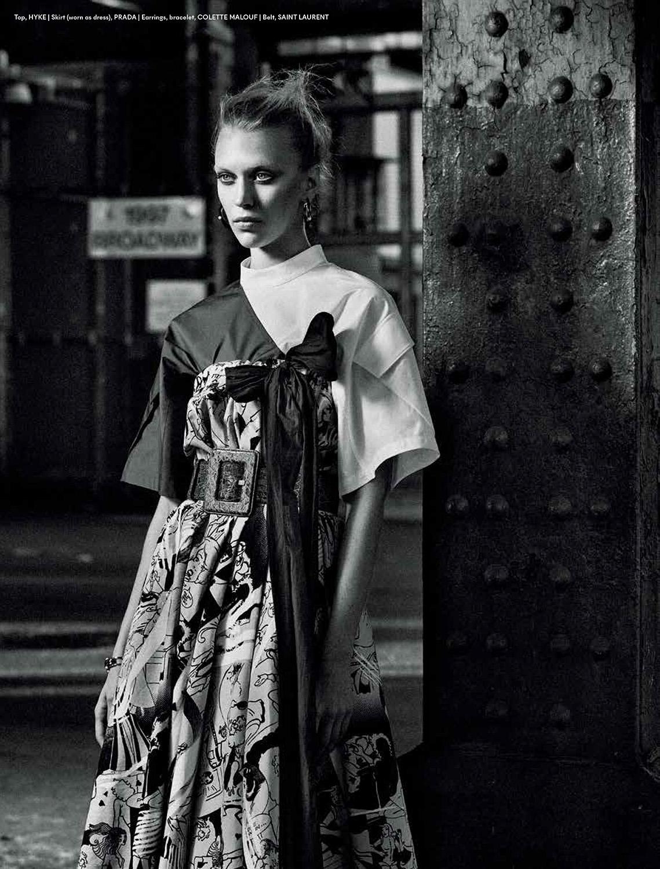 Juliana Schurig by Danilo Hess for Mojeh Magazine April 2018