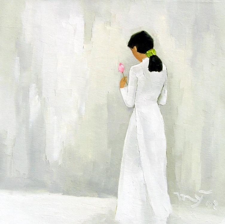Жизнь Вьетнама на картинах Ha Huynh My
