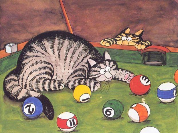 Коты J.K.Kliban