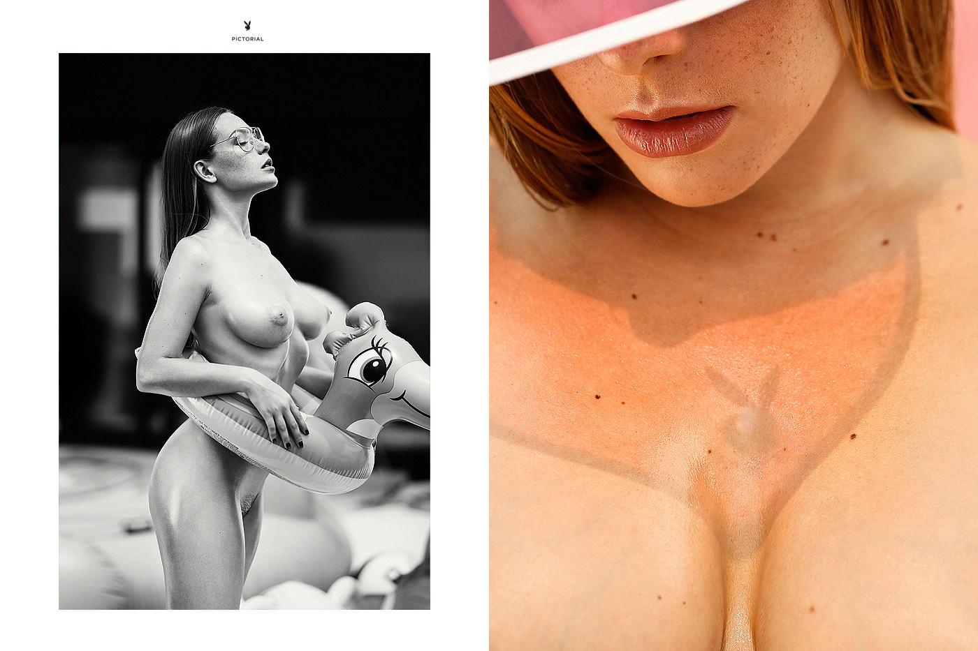Ольга Кобзар - Playboy Netherlands February 2018 / фото Ana Dias