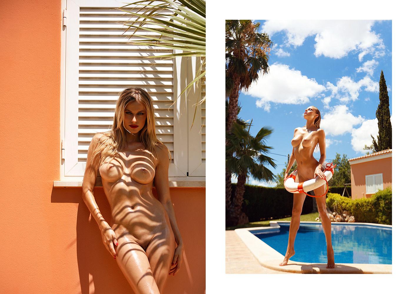 Olga de Mar Playboy Portugal April 2018 | фото Ana Dias