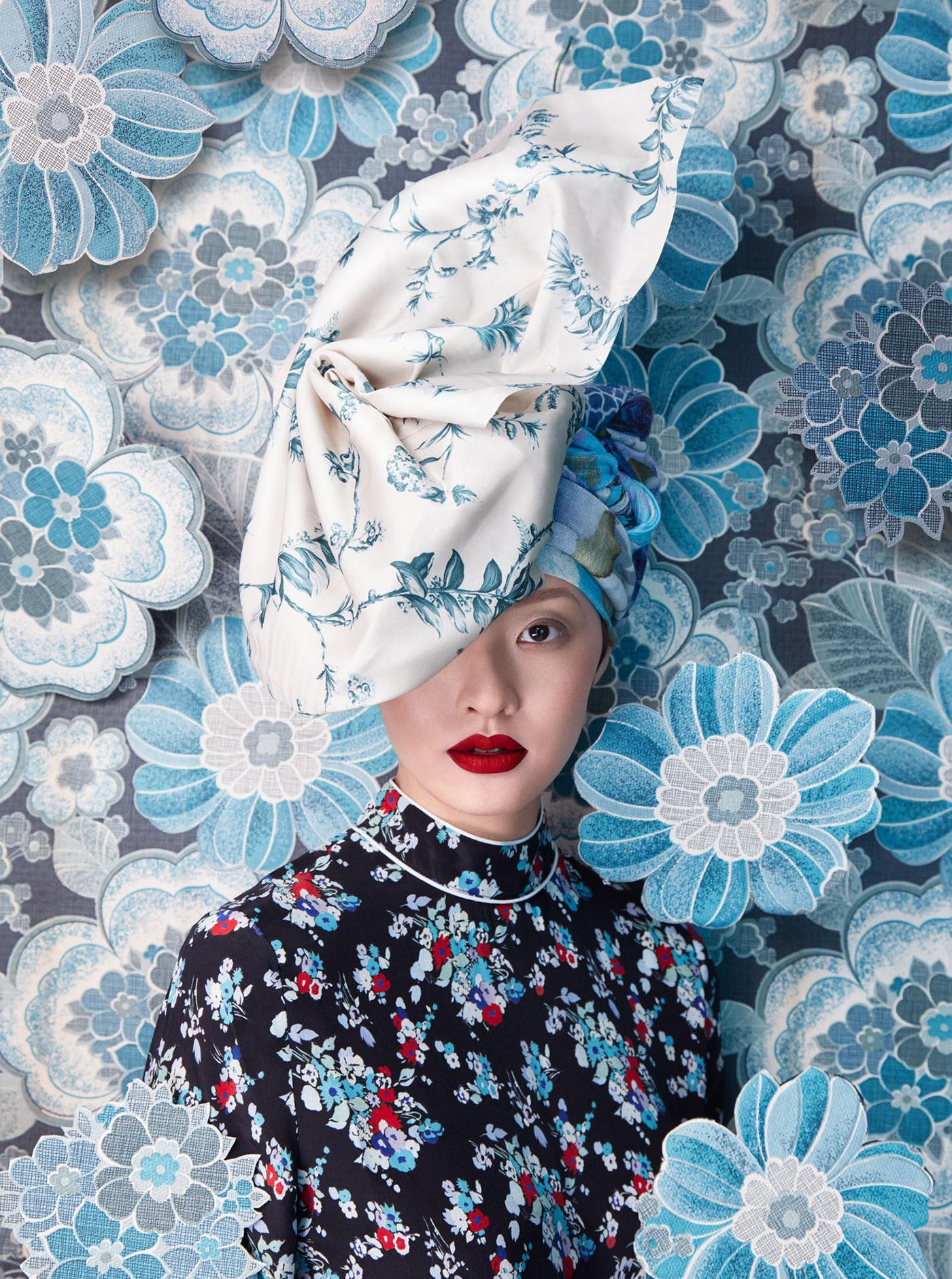 Harper's Bazaar Flower / фото Sandrine and Michael