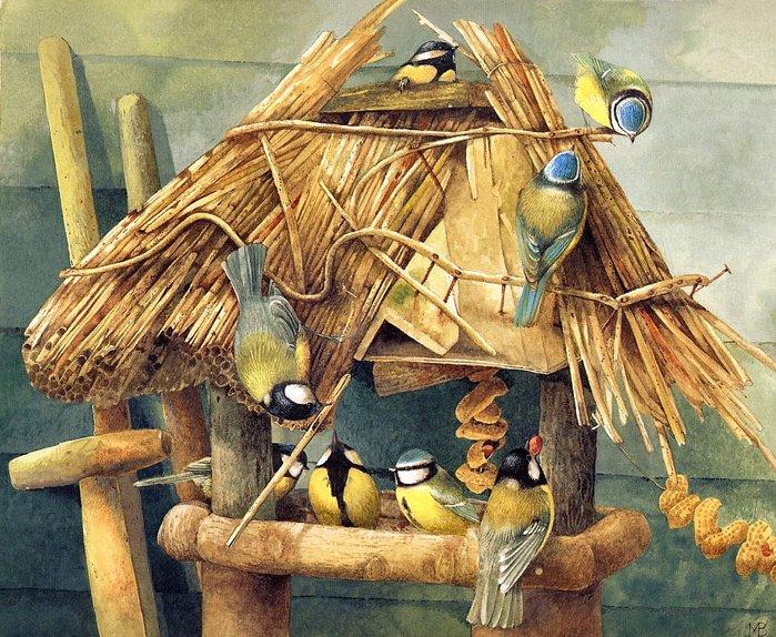 Птицы Marjolein Bastin