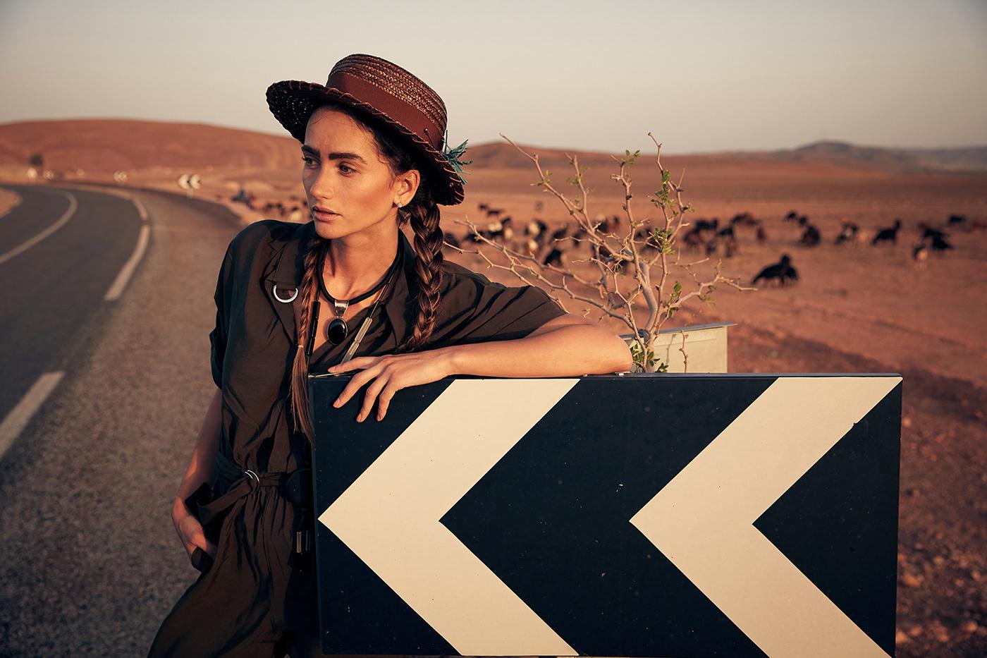 Пастушка в Марокко / фото Jaroslav Monchak