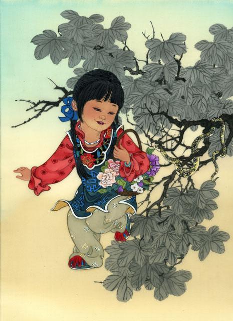 Знаки зодиака - детская серия / художник Caroline Young