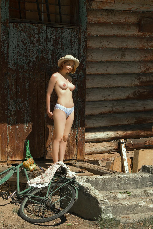 Жизнь дачницы / фотограф Игорь Воронцов