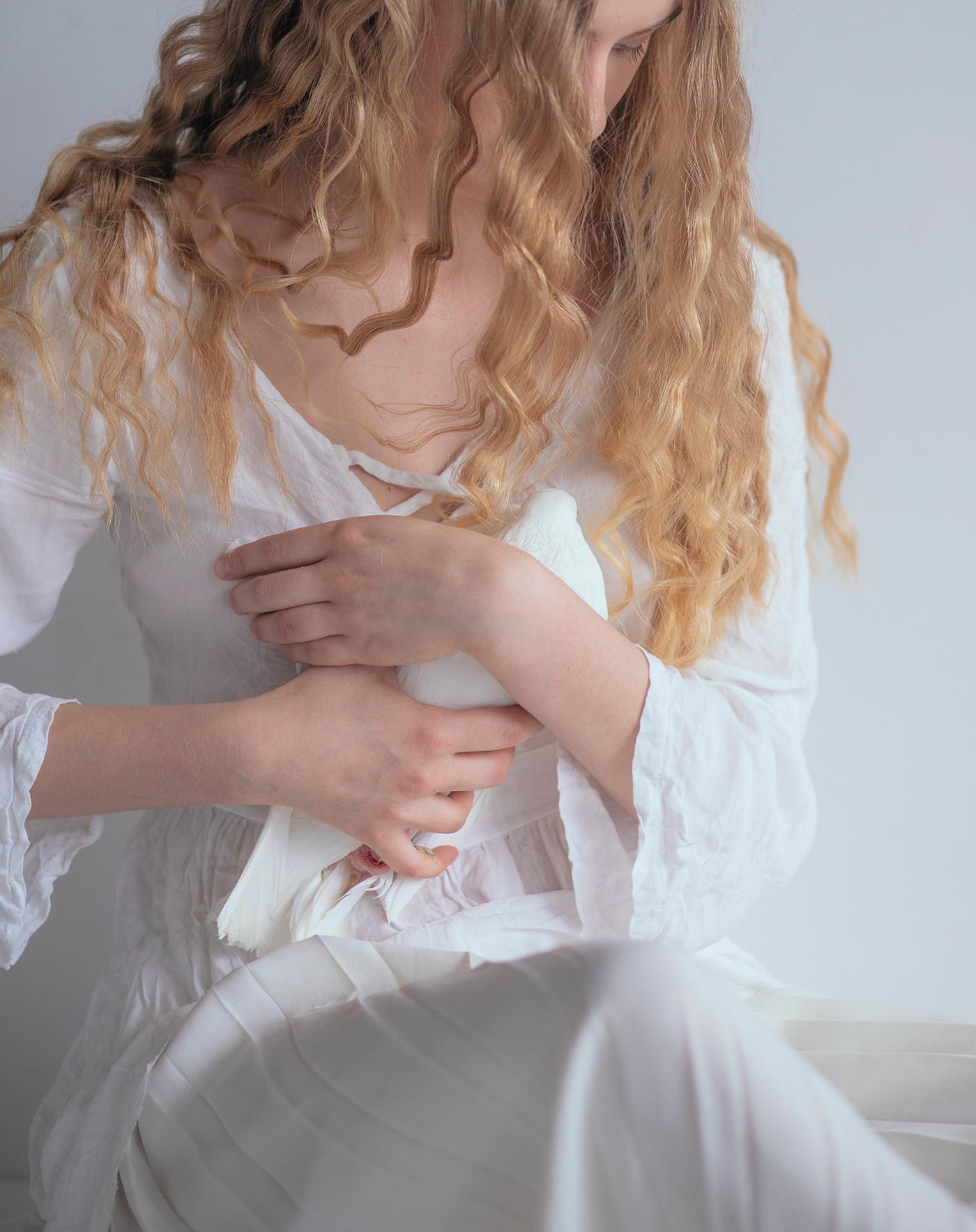 Голубка / Фотограф Marta Syrko