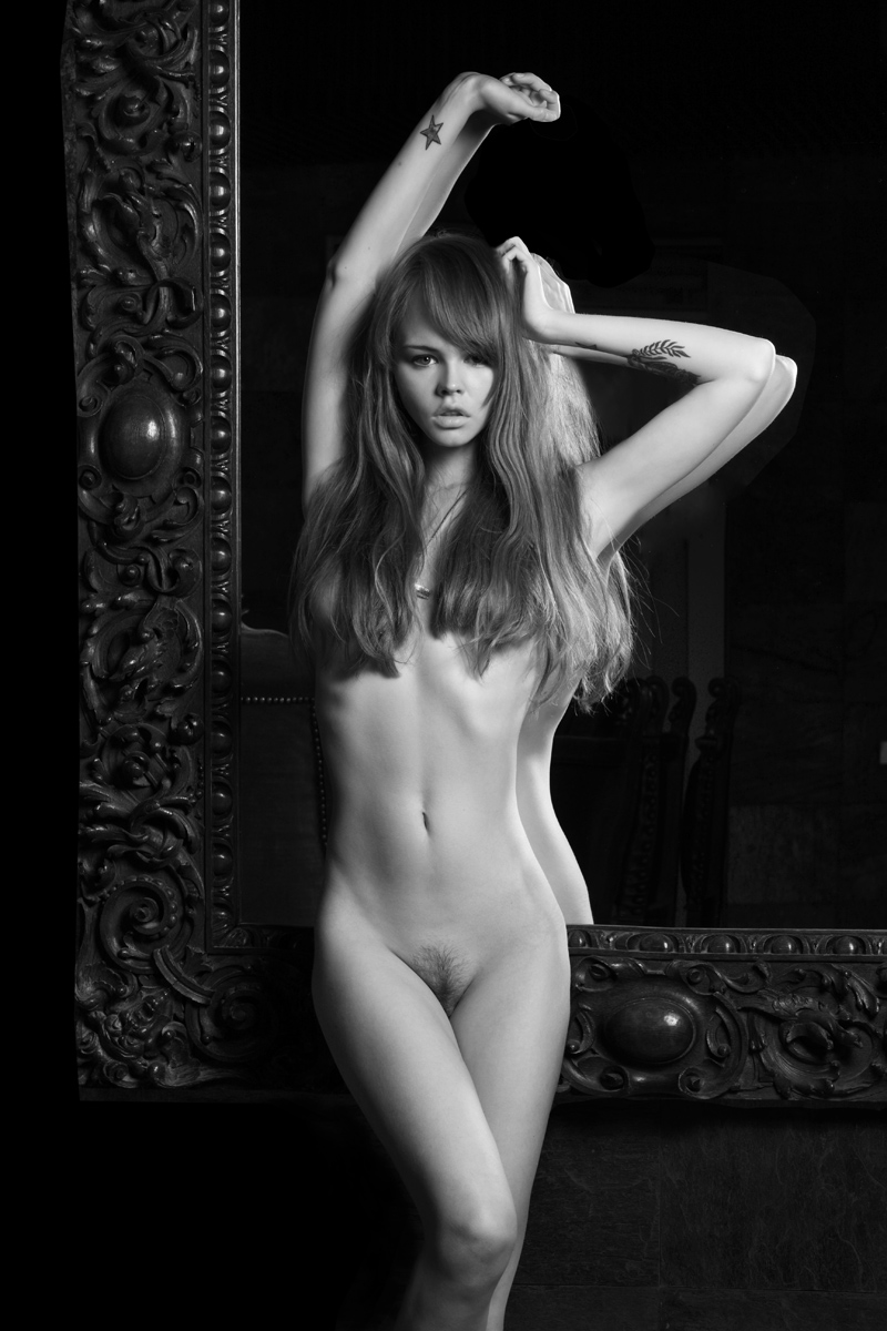 Сопливые голые модели #8