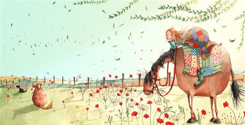 Художник-иллюстратор Holly Clifton-Brown