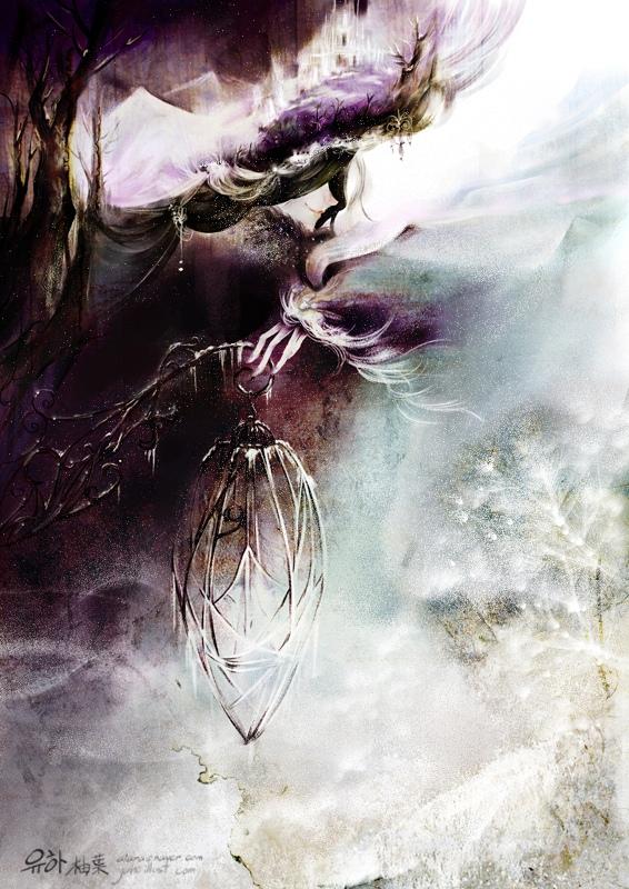 Иллюстрации корейского художника Yu-ha