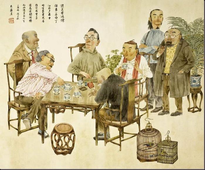 Картины Xie Yousu
