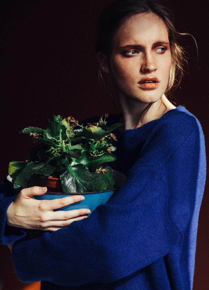 blue / фото Marta Syrko