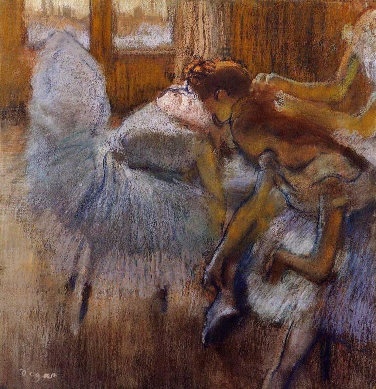 Балерины Эдгара Дега