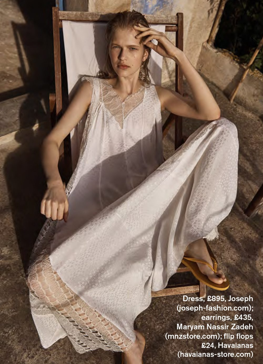 Aivita Muze by Bridget Fleming for Stylist Magazine June 2018