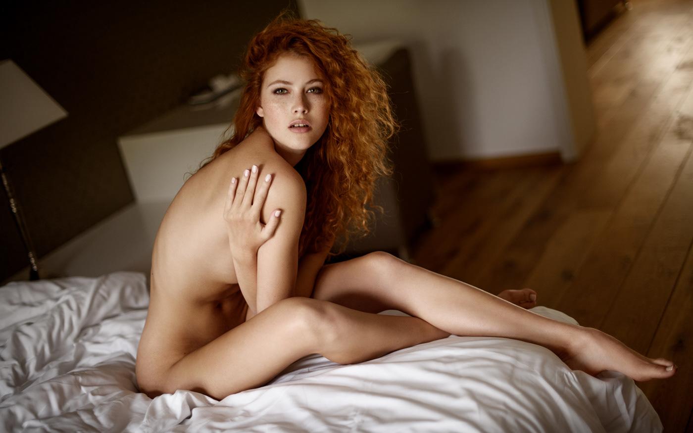 Like fire Heidi Rom / фото Sacha Leyendecker