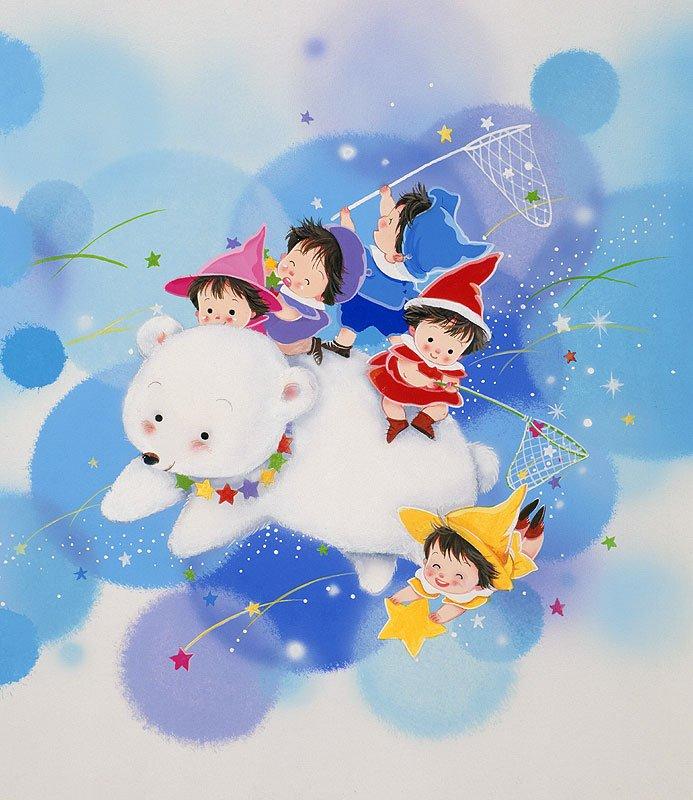 Рисунки Hiroko Iga