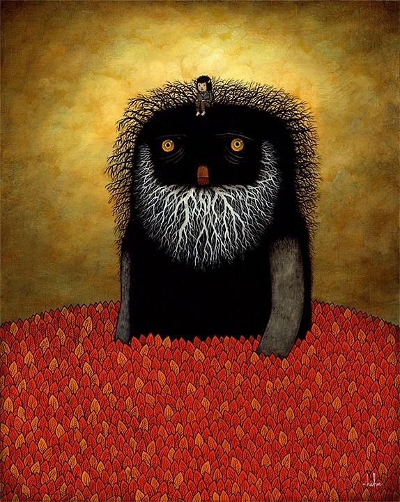 Лесные духи / Рисунки Andy Kehoe