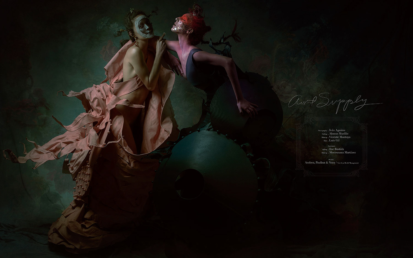 Art Supply для FLESH MAGAZINE / фото Iván Aguirre