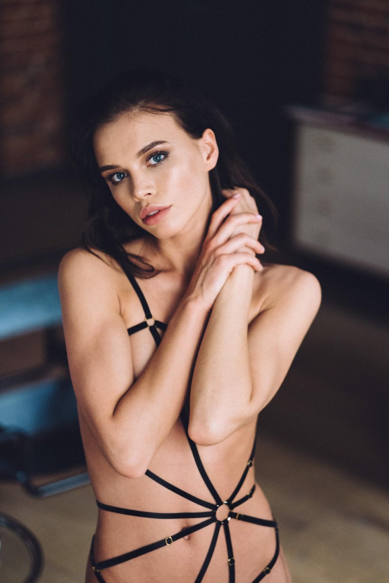 Anna Gadenova by Grégory Fountoussov