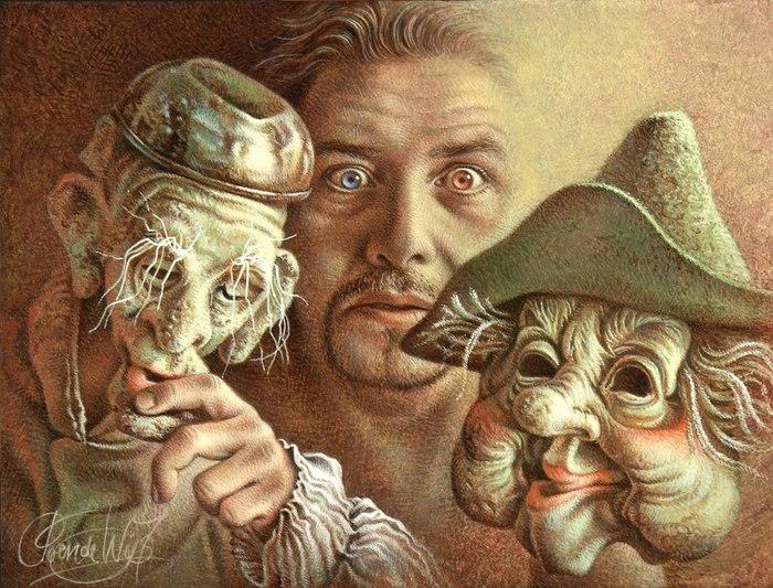 голладский художник Poen de Wijs