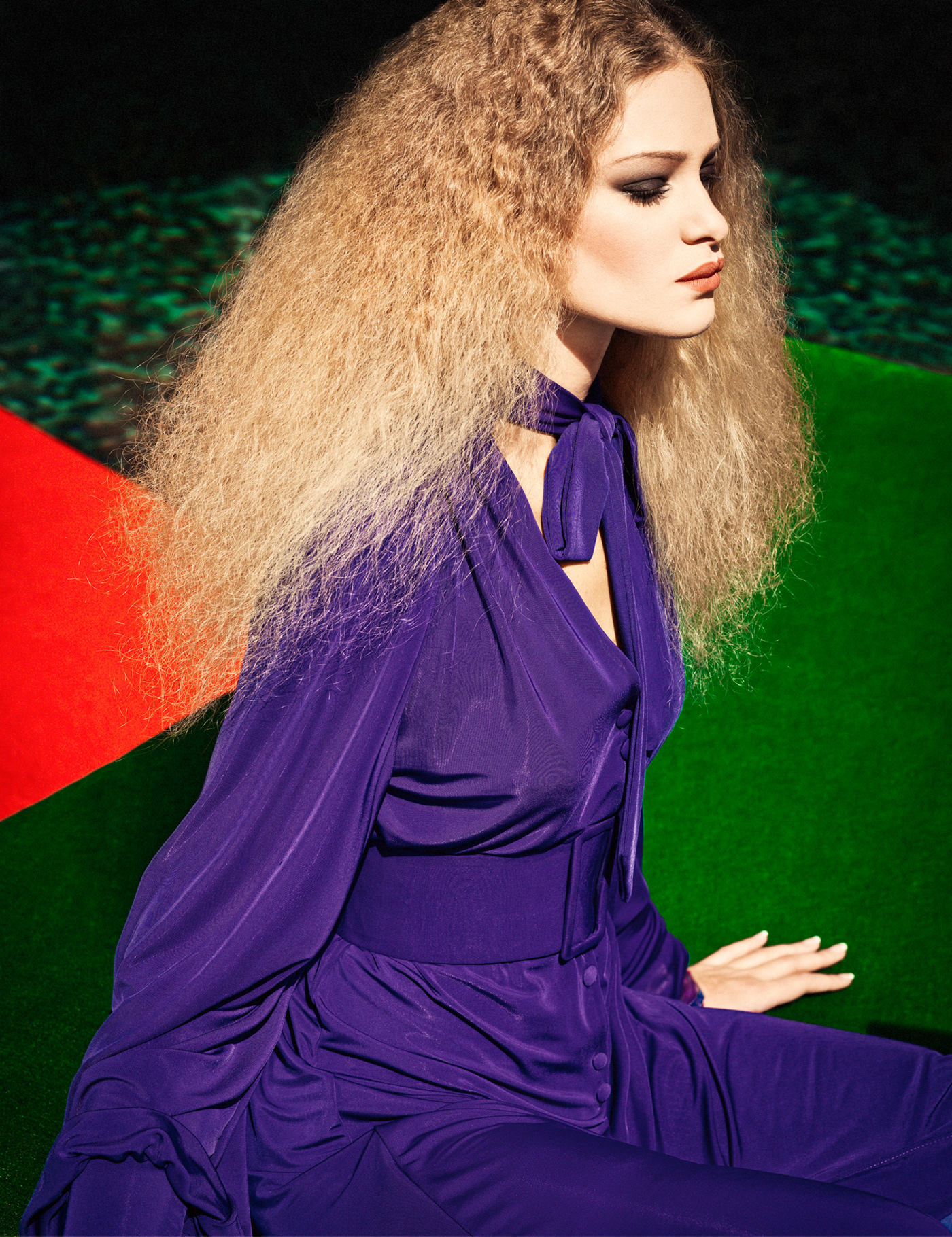 ULTRAVIOLET / Photography Elena Iv-skaya Model Valérie Vialo