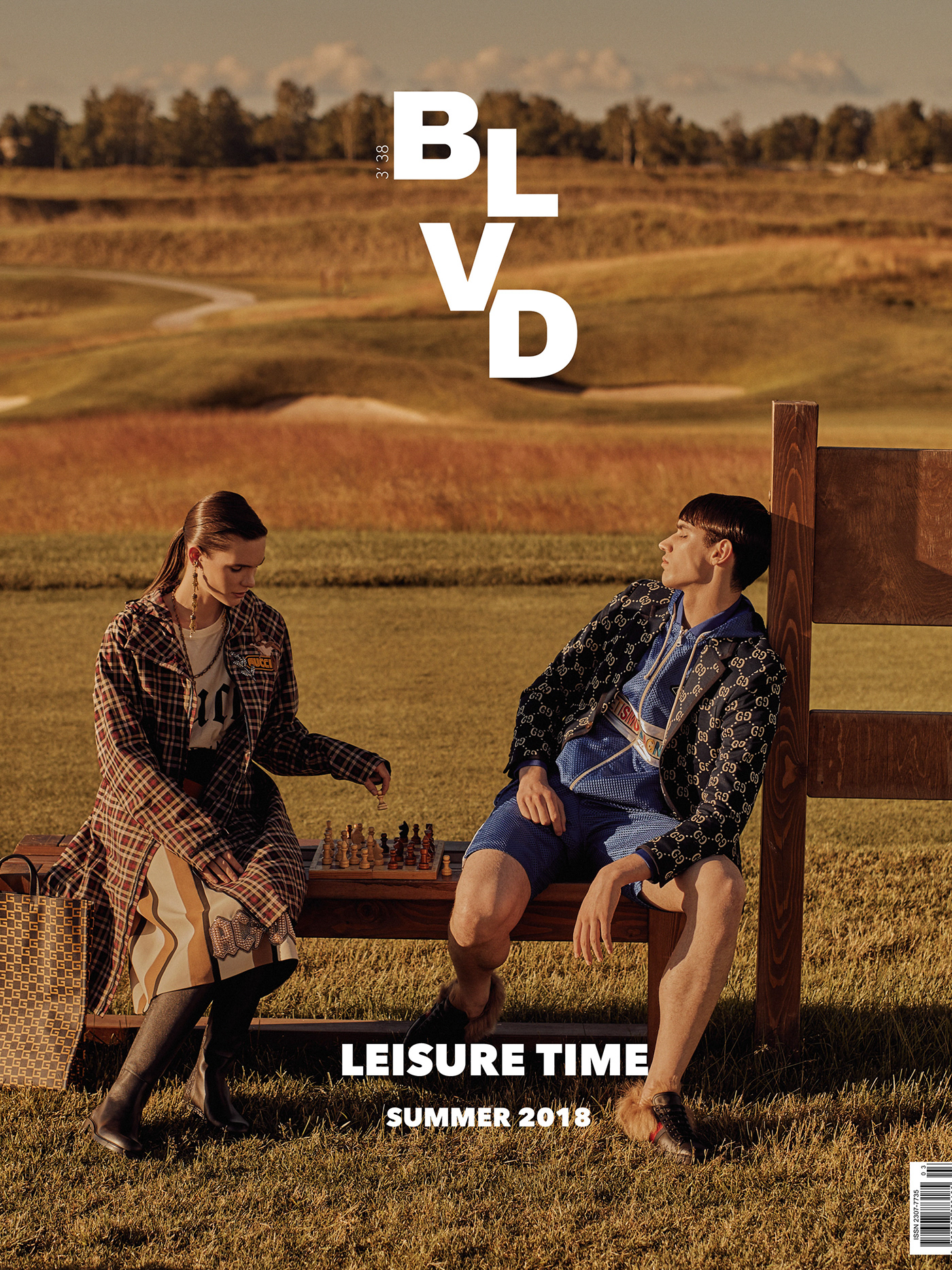 BLVD Magazine Summer issue 2018 / фото Yaroshuk Danil