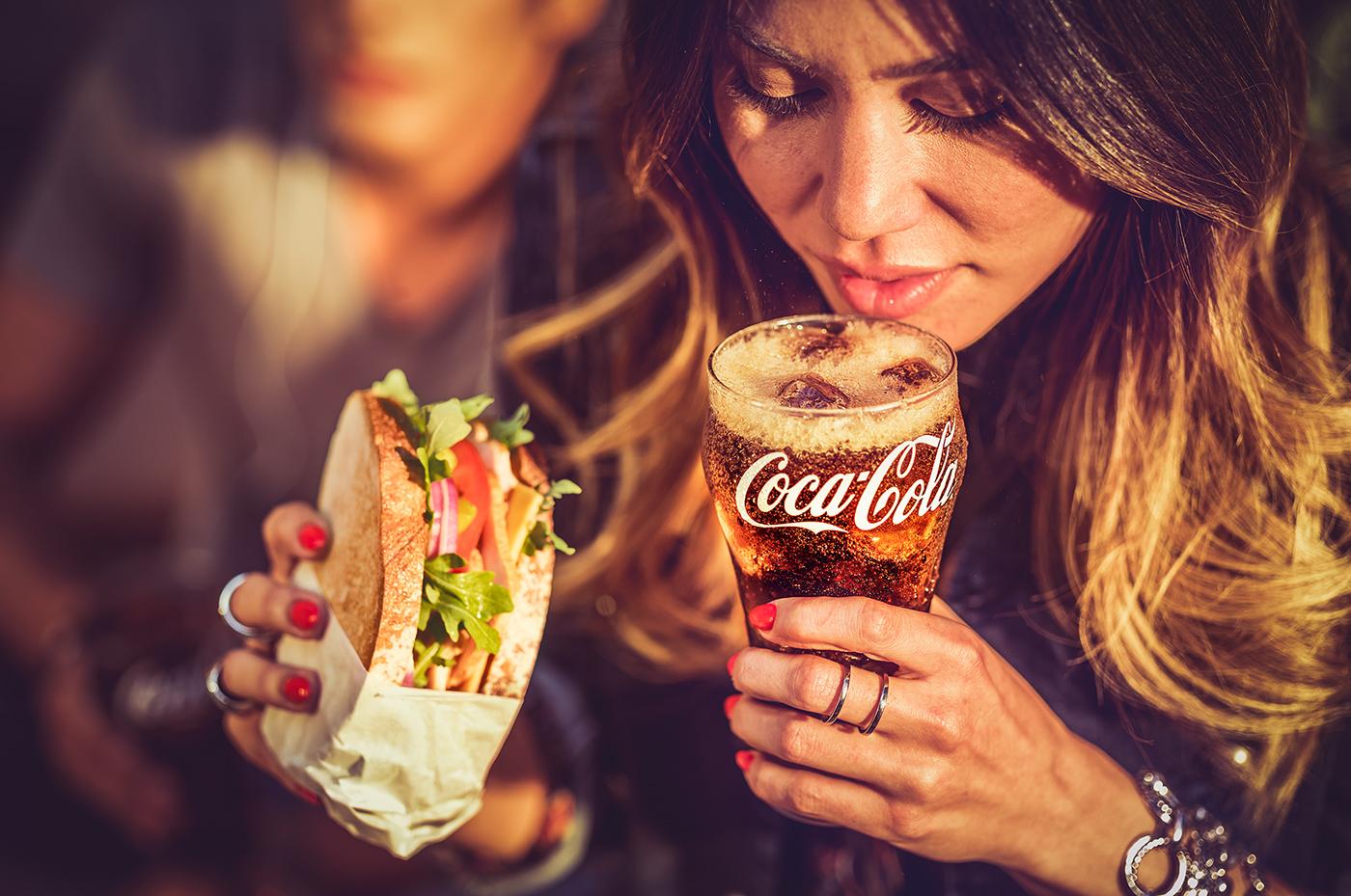 Coca-Cola food