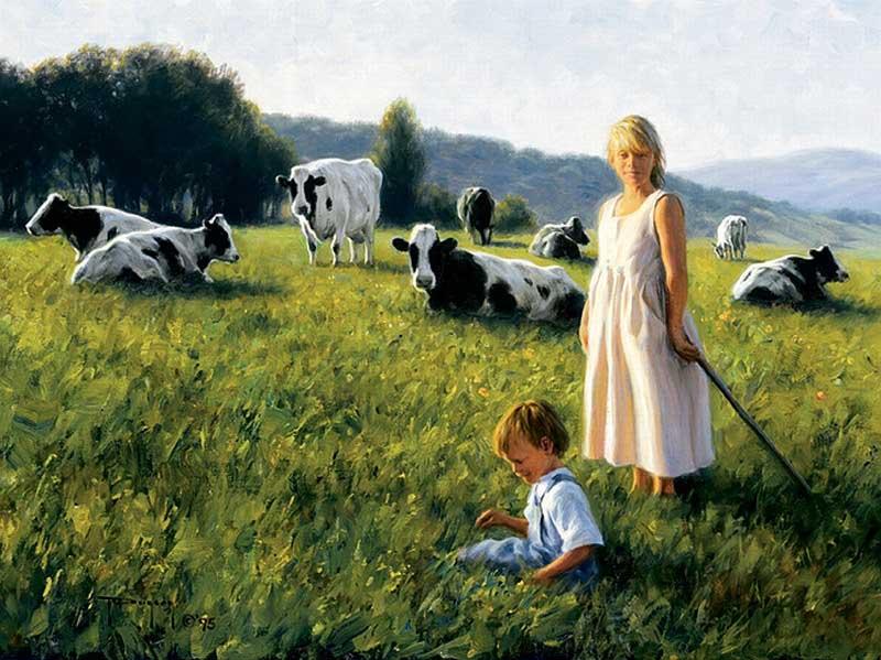 Днем, смешные картинки из сельской жизни