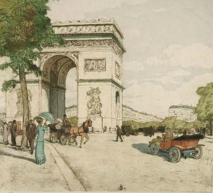 Парижские бульвары T. F. Šimon