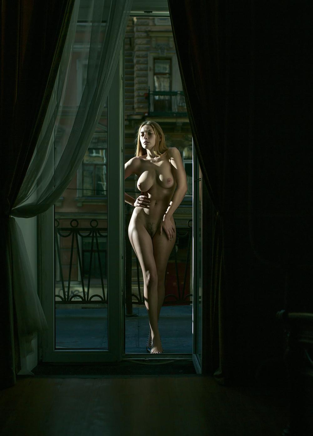 Ню модель Ольга Кобзар / фотограф Аристов Михаил