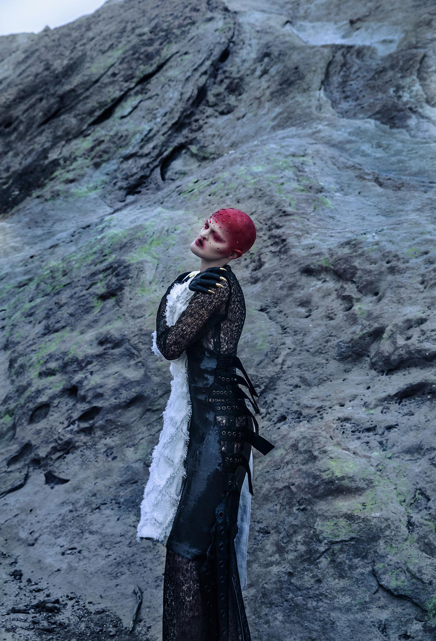 Land of silent для Virtuogenix magazine / фото Ekaterina Belinskaya - модель Melanie Gaydos