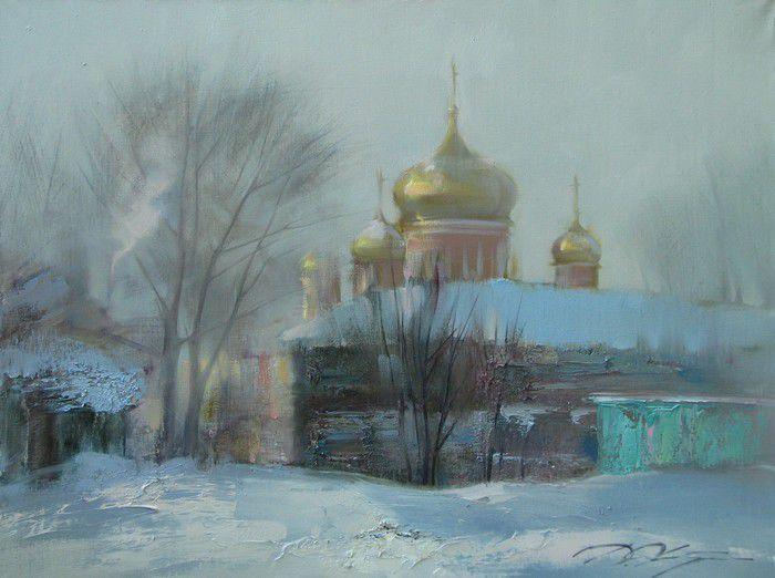 художник Денис Октябрь