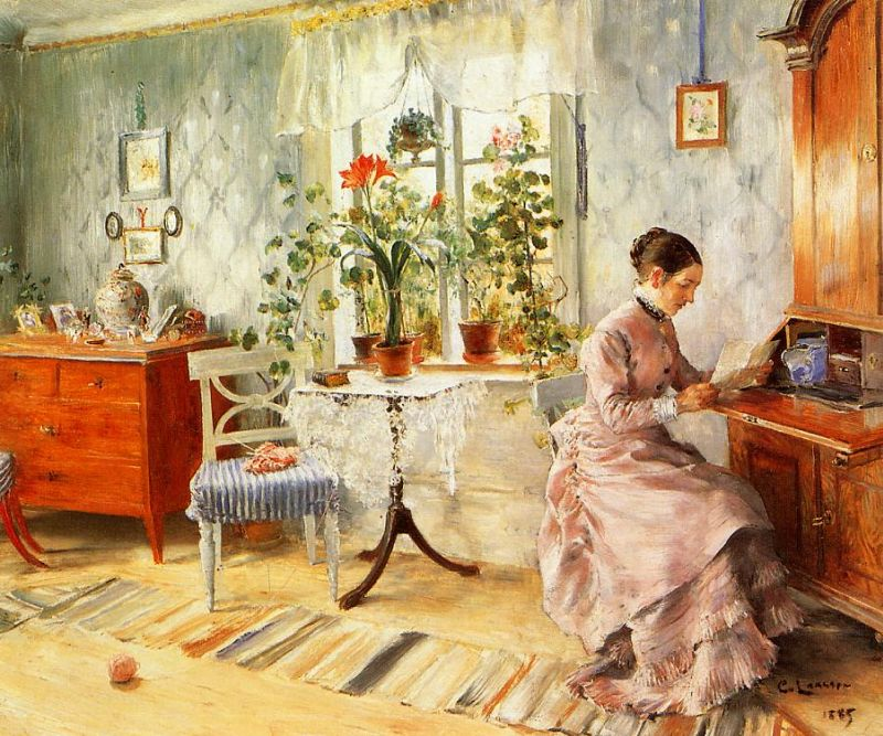 Художник Carl Olof Larsson