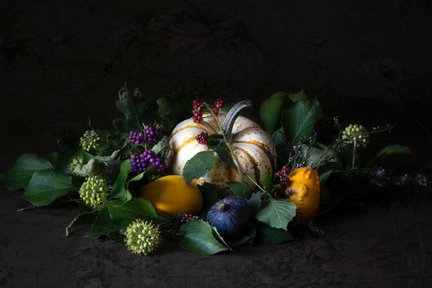 Still life with pumpkins /  фото S Plumauvent