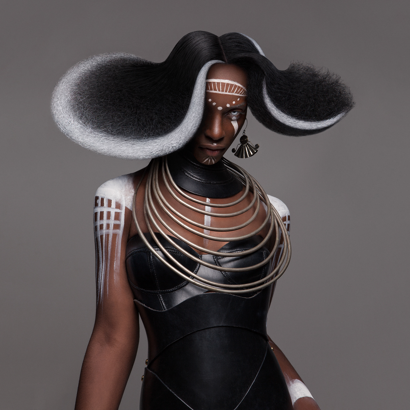 British Hair Awards 2016 - Afro Finalist Collection / фото Luke Nugent
