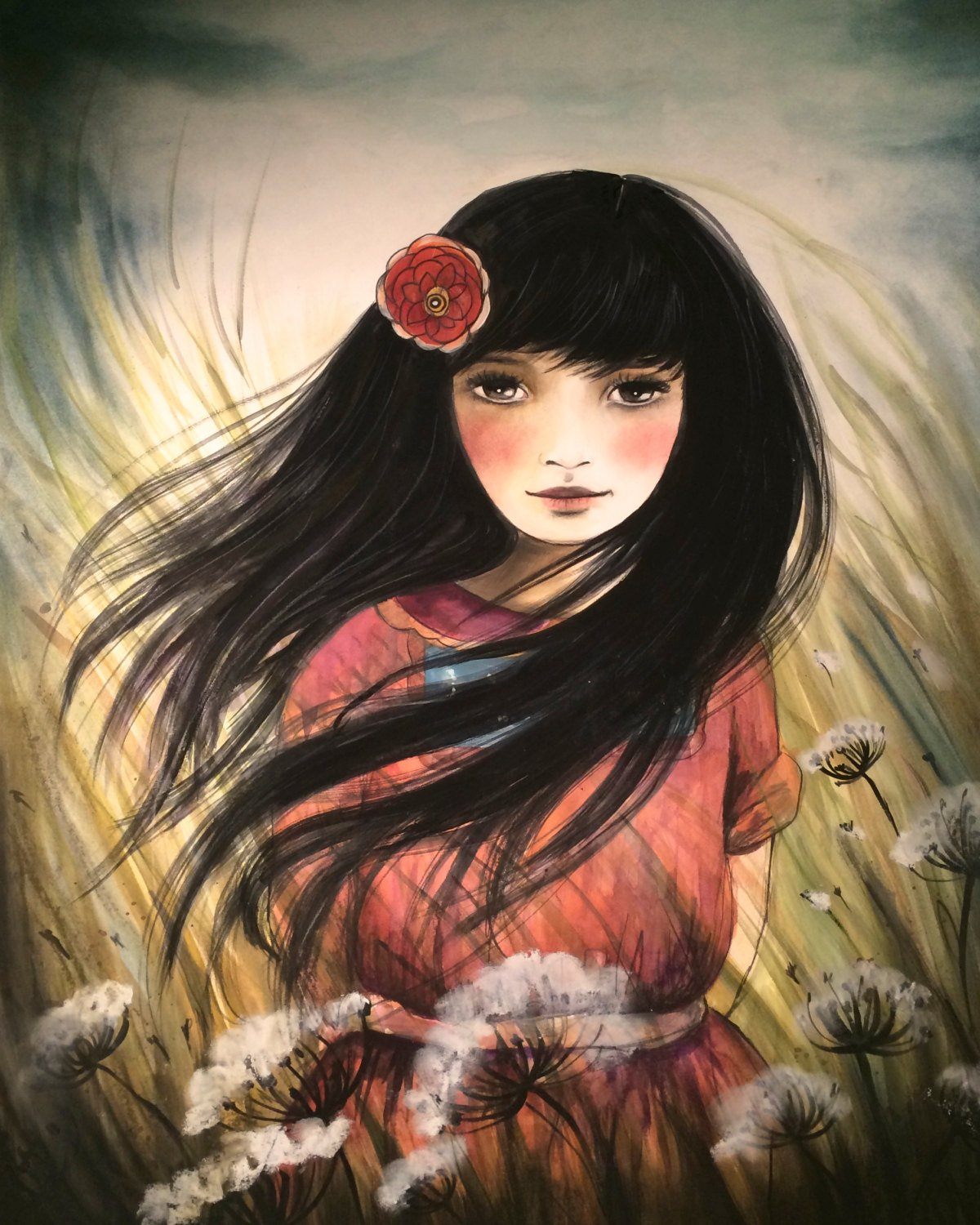 Акварели Claudia Tremblay