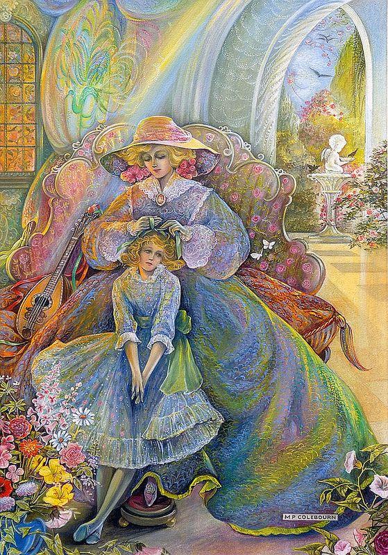 Красивые тети / художник Pamela Colebourn