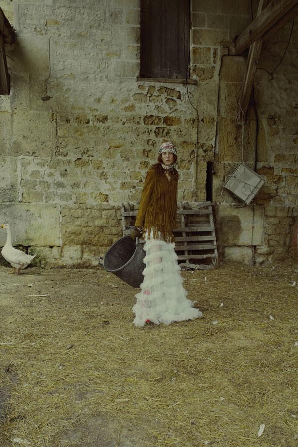 Nadine Ammeraal для Schon / фото Marta Bevacqua