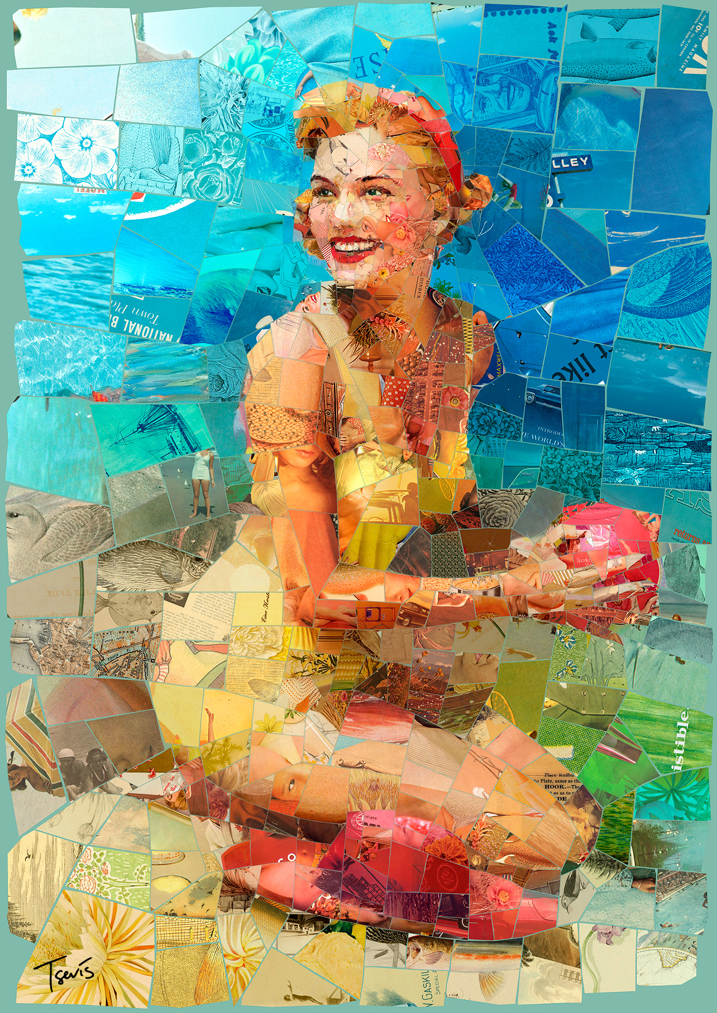 Endless Summer / работа Charis Tsevis