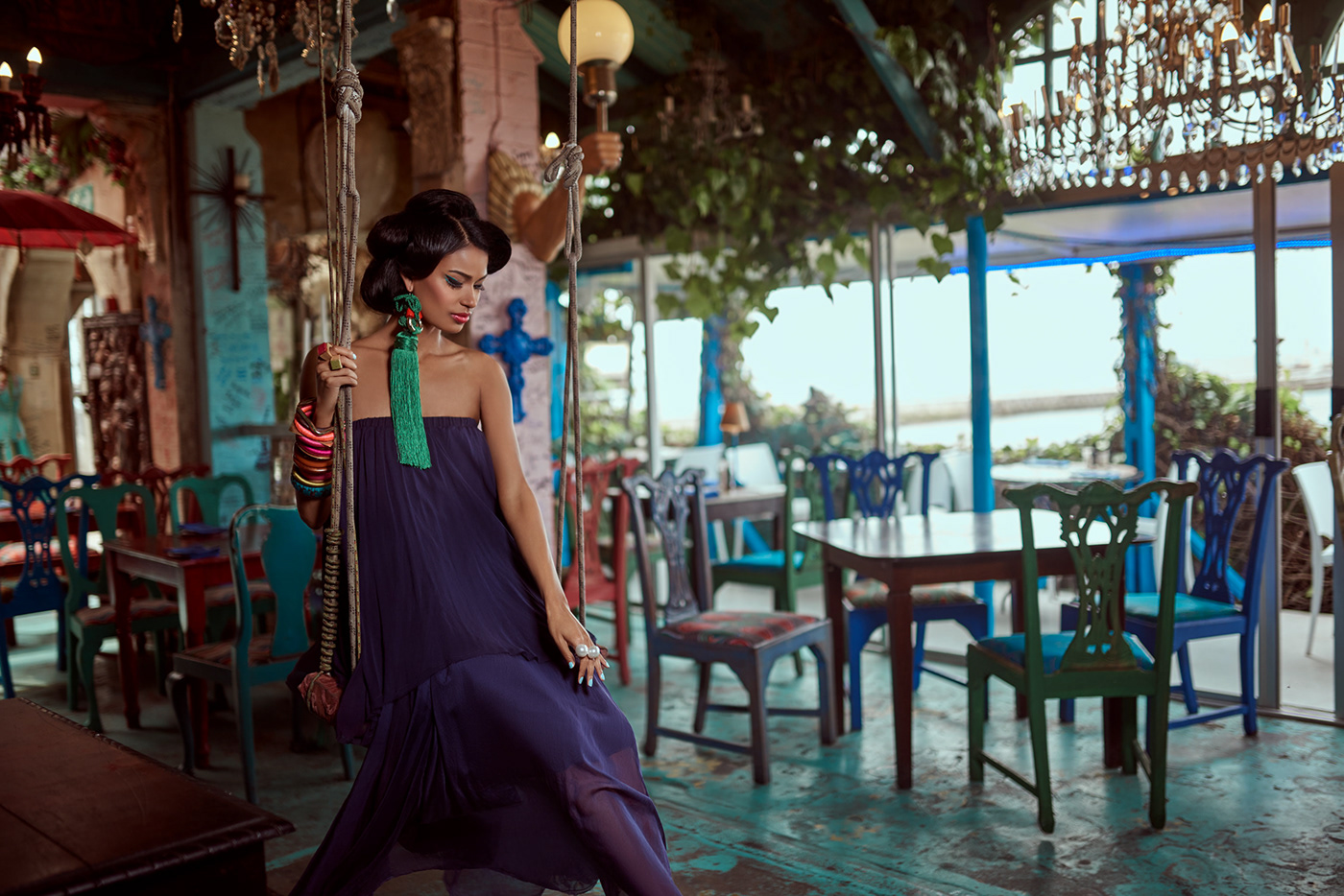 Cape To Cube - A Fashion Story For United Maverick Magazine vl4 / фото Ingrid Alice Irsigler